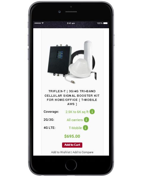 Responsive Online Store Design