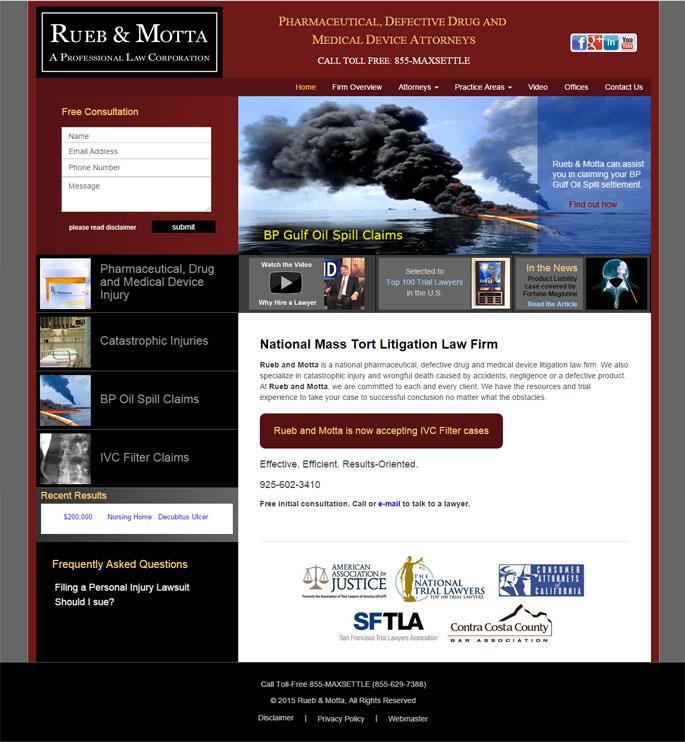 Law Marketing Web Design