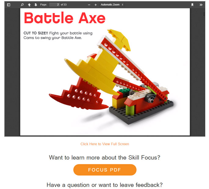 Lego Robotics Design Viewer