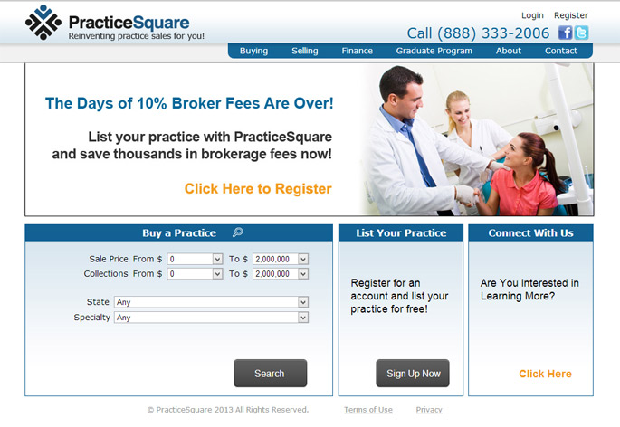 medical dental practice sales