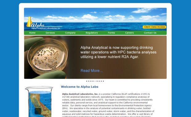 Laboratory Web Design